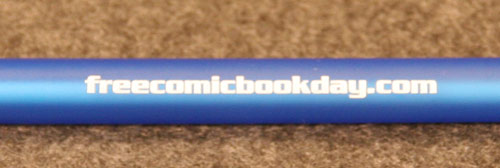 Free Comic Book Day Pen logo