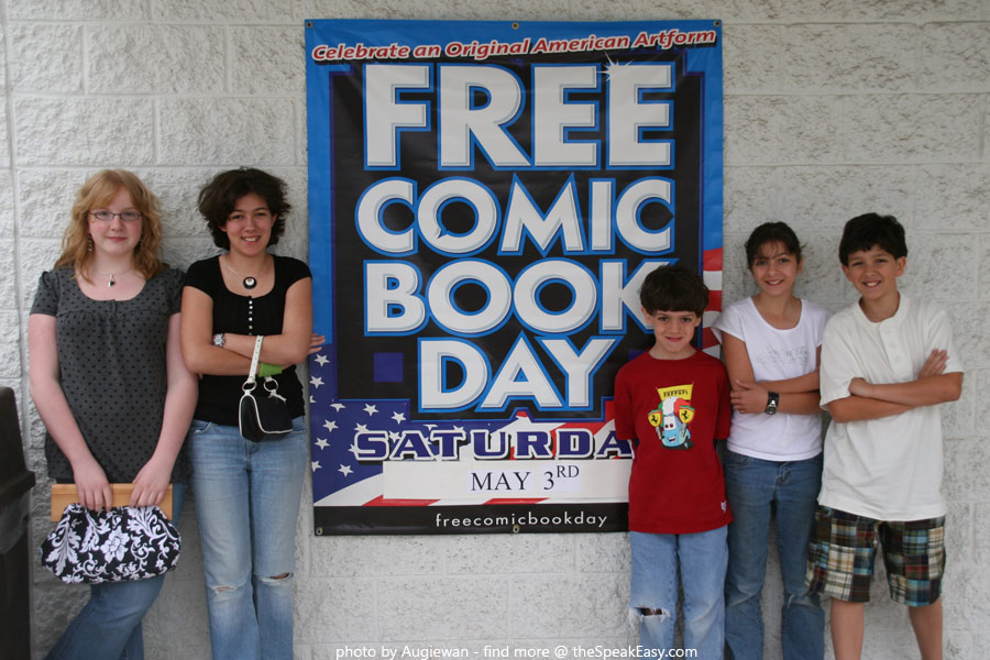 Free Comic Book Day 2008 at BuyMeToys.com