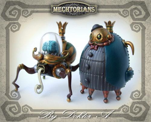 Mechtorians Threadneedle & Copperpenny