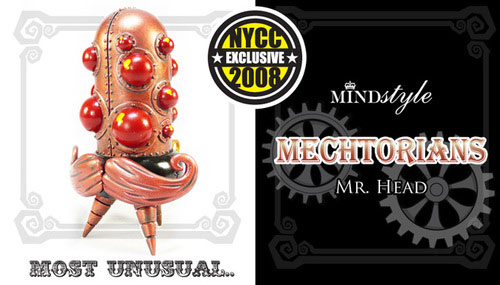 Mechtorians Mr. Head - NYCC 08 Exclusive