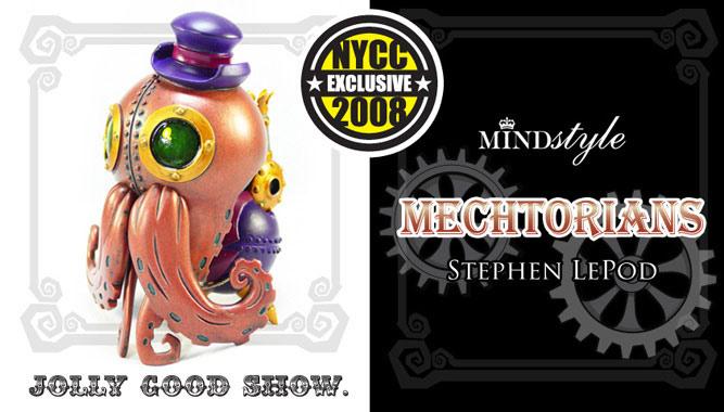 Mechtorians Stephan LePodd - NYCC 08 Exclusive