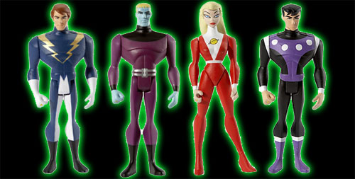 Legion of Super Heroes Action Figures