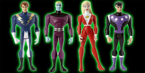 Legion of Super Heroes Action Figures