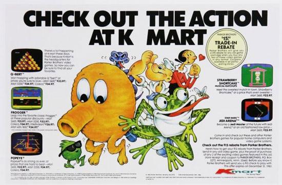 Vintage K-Mart Atari Ad