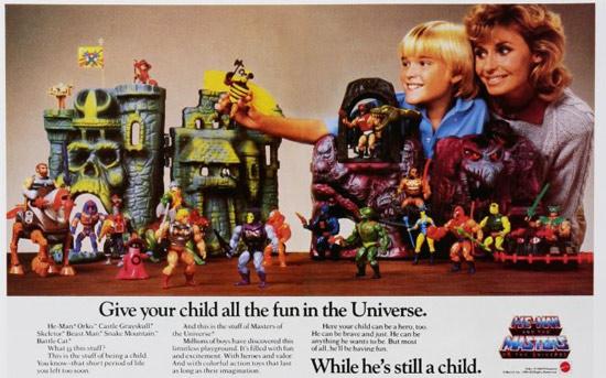 Vintage He-Man Ad