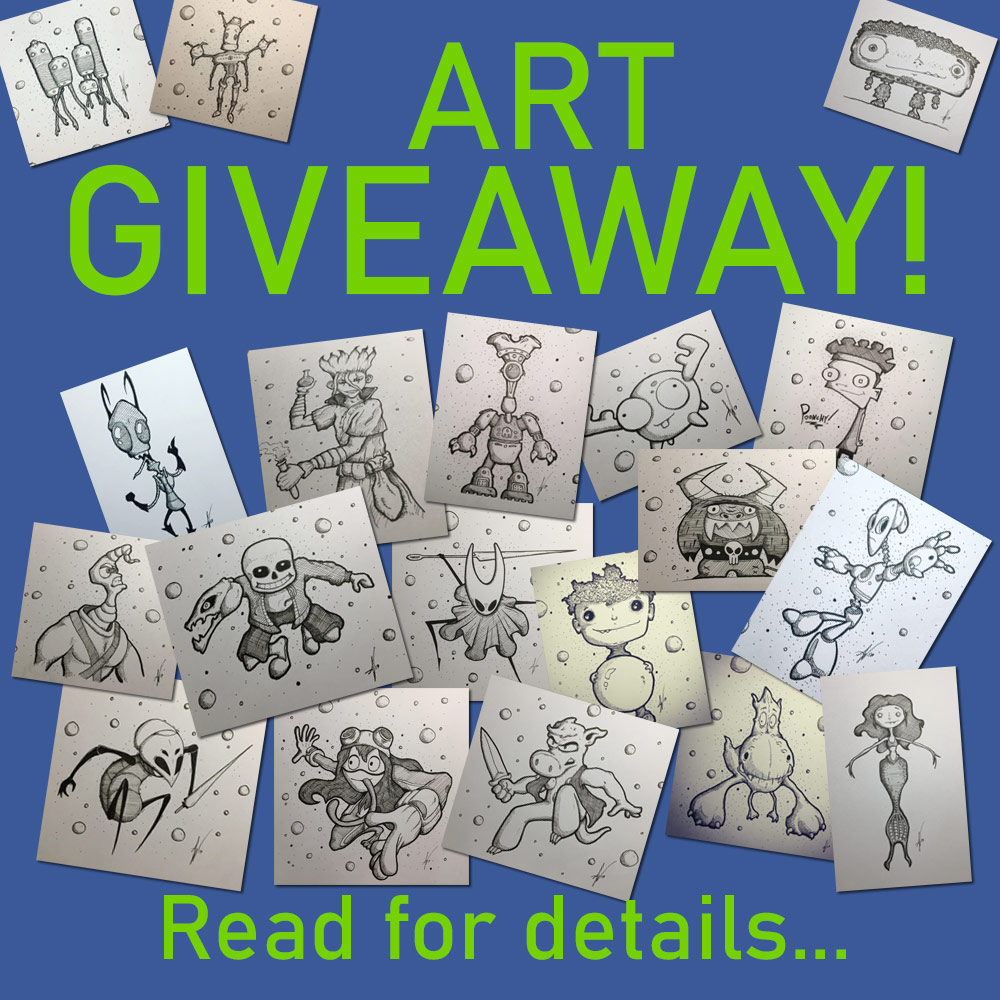 Art Giveaway by Augiewan
